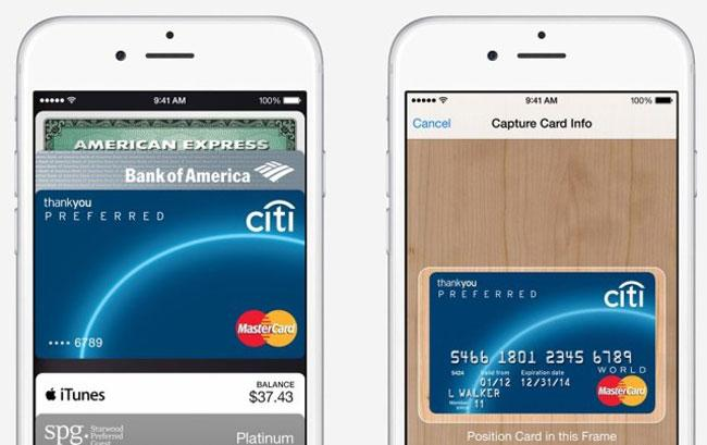 Sistema de pago Apple Pay en iOS 8.1