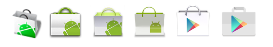 Google Play Store iconos