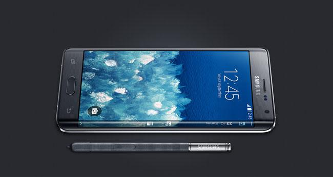 Diseño del Samsung Galaxy Note Edge
