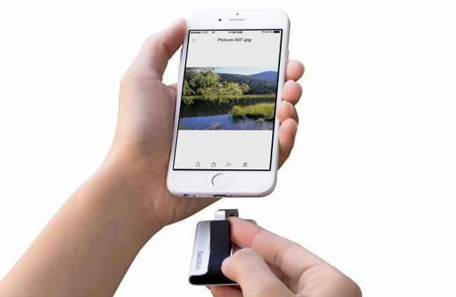 SanDisk iXpand para iPhone