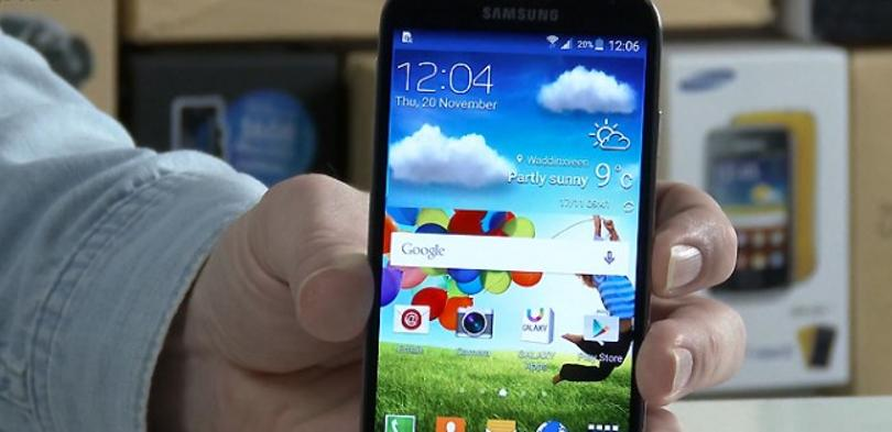 Samsung Galaxy S4 segundo test Lollipop.