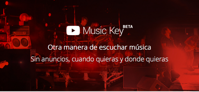 youtubemusic key