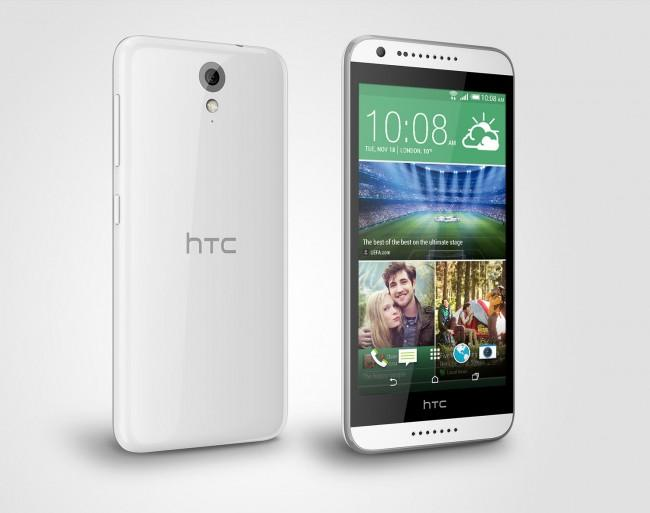 HTC Desire 620 en color blanco