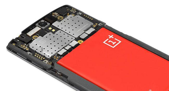 Interior del OnePlus One