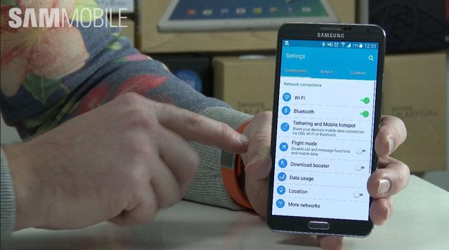 Samsung Galaxy Note 3 con Android 5.0