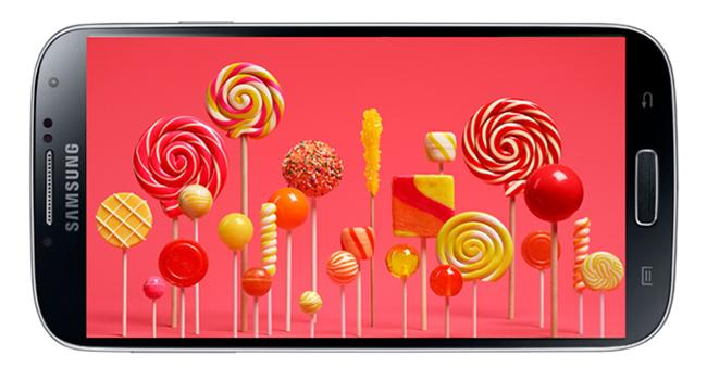 Samsung Galaxy S4 Google Play Edition Lollipop