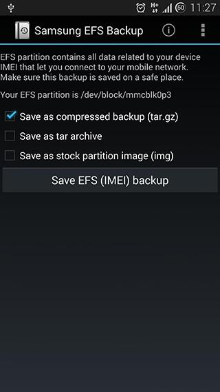 Wanam's App IMEI EFS Android