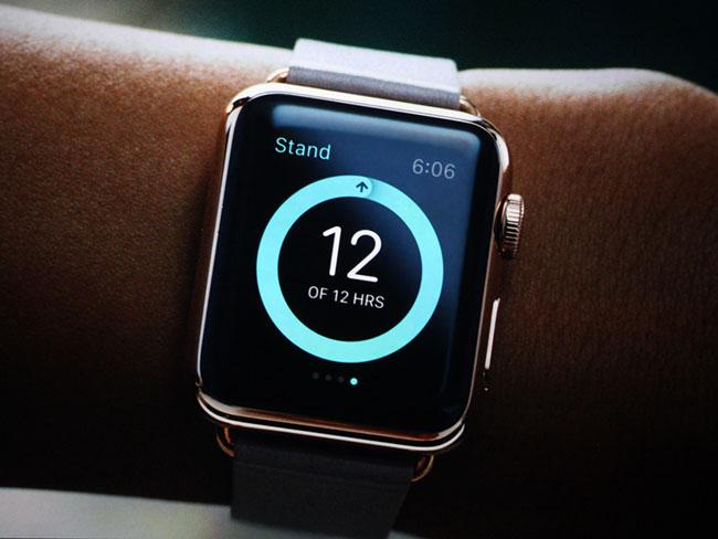 Pantalla del Apple Watch
