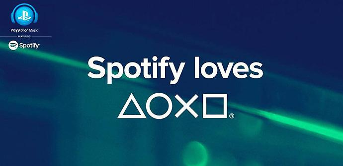 Spotify Loves PlayStation (y Xperia)