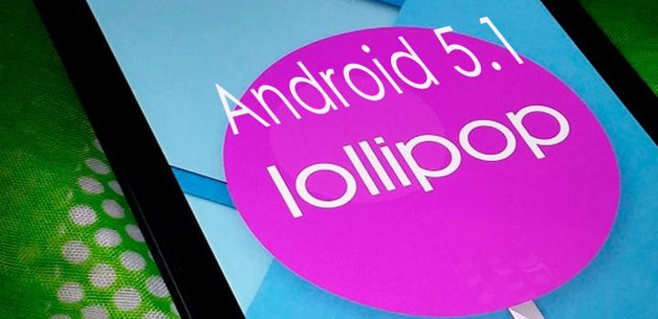 Captura de pantalla de Android 5.1 Lollipop