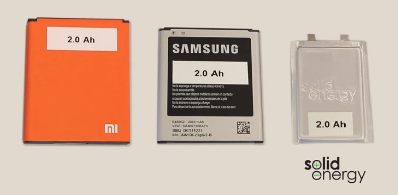 Baterías para Project ara de Solid energy.