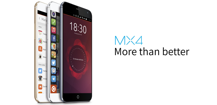 Meizu MX4 Ubuntu Edition.