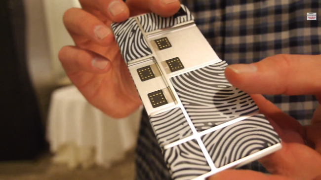 Vídeo de muestra de Project Ara.