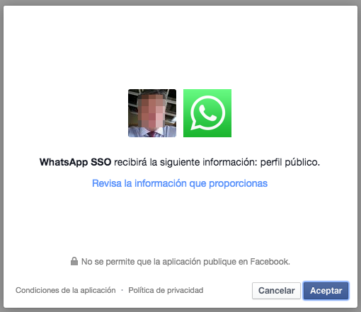 Integracion WhatsApp con Facebook.