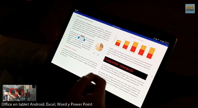 word tablet android