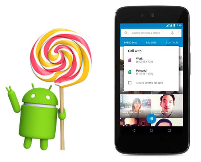 Actualización Android 5.1 Lollipop