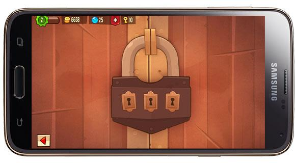 Candado en King Of Thieves