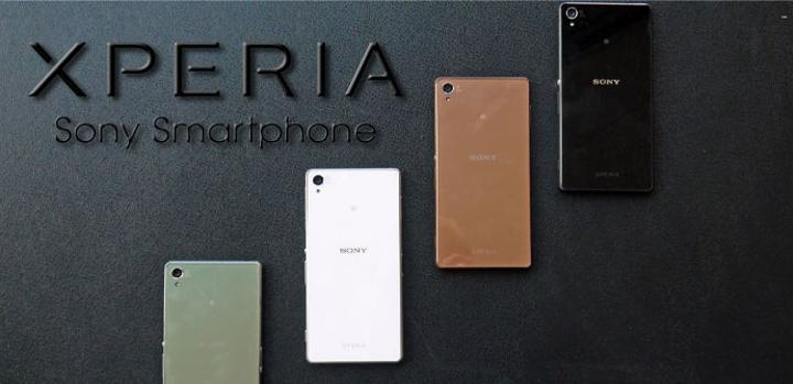 Sony Xperia Z4 en distintos colores