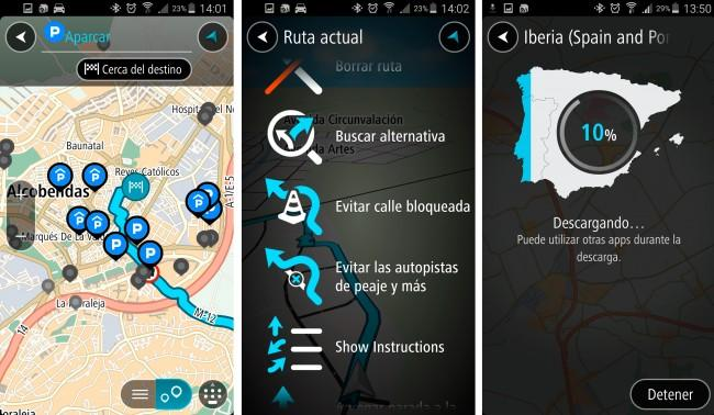 TomTom para Android,