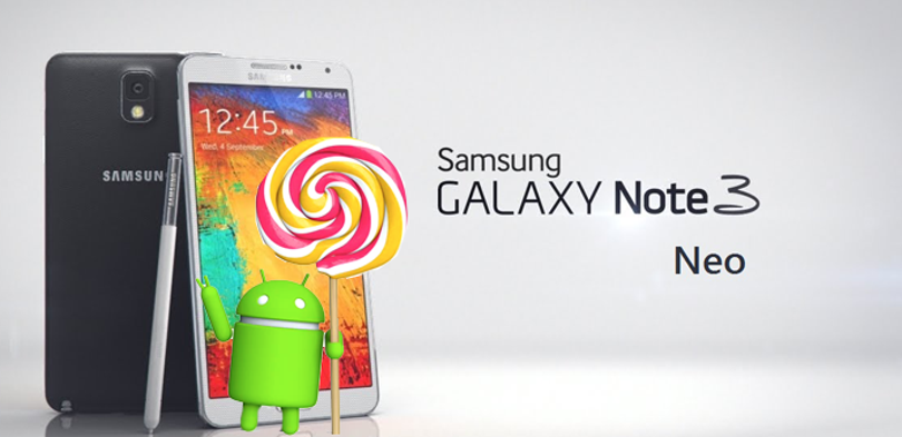note 3 neo lollipop