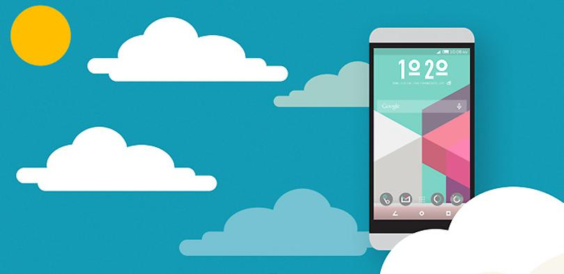 HTC Themes para el HTC One M9.
