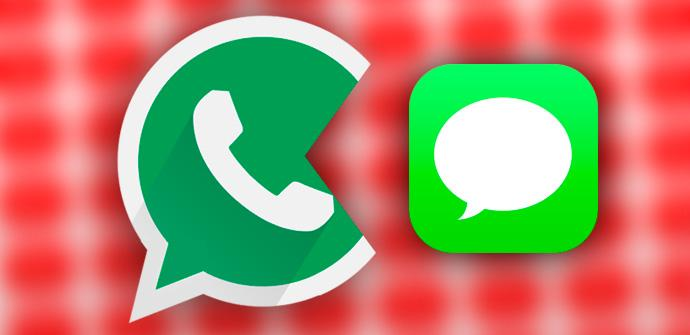 WhatsApp vs SMS.