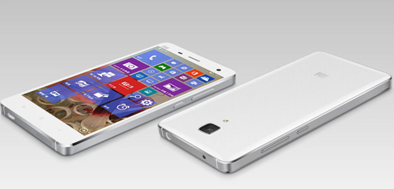 xiaomi mi4 windows phone