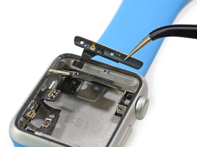 Antena WiFi y Bluetooth del Apple Watch