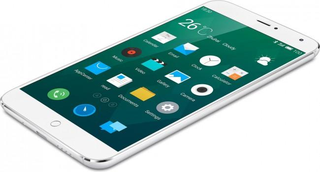 Meizu MX4 en color blanco