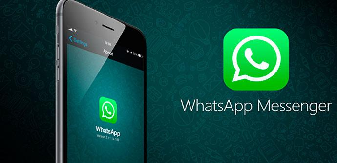 Llamadas de WhatsApp en app para iPhone