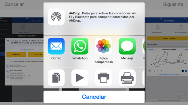 Llamadas VoIP en WhatsApp para iPhone.