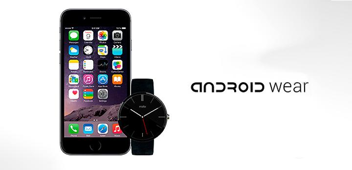 Android Wear compatible con iPhone.