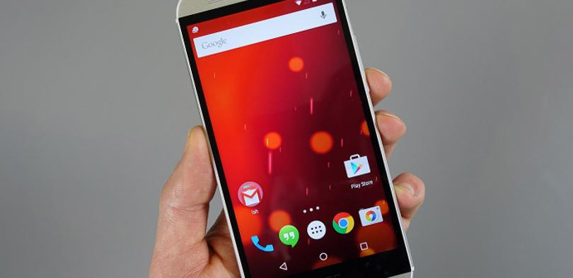 HTC One M8 Android Lollipop.