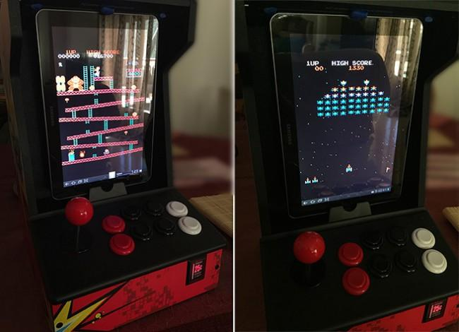 iCade para iPad con un tablet Android.