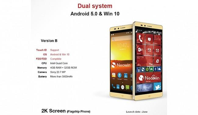 Nuevo Elephone dual boot Android y Windows 10.
