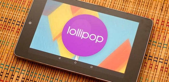 Nexus 7 Lollipop 'bricks' Android 5.0.2 Lollipop.