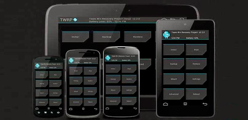 TWRP recovery.