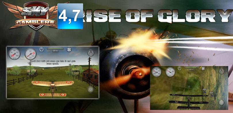 Juego para Android Sky Gamblers: Rise of Glory