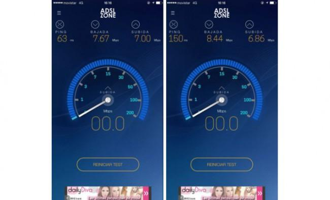 4G Pepephone vs Movistar.