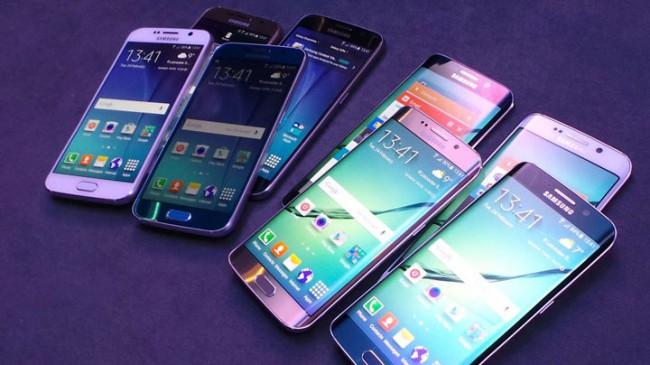 Samsung Galaxy Note Edge y Samsung Galaxy S6 Edge