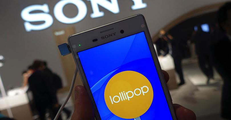 Sony Xperia con Android 5.0.2 Lollipop