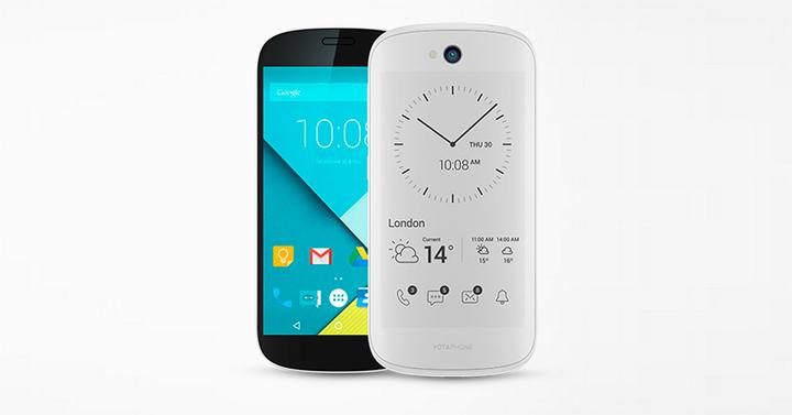 yotaphone 2 con lollipop