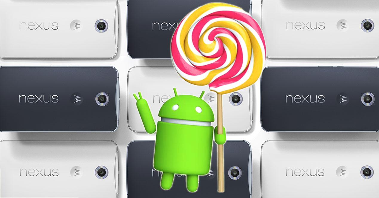 Lollipop Nexus 6