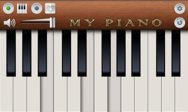 Apps de piano para Android.