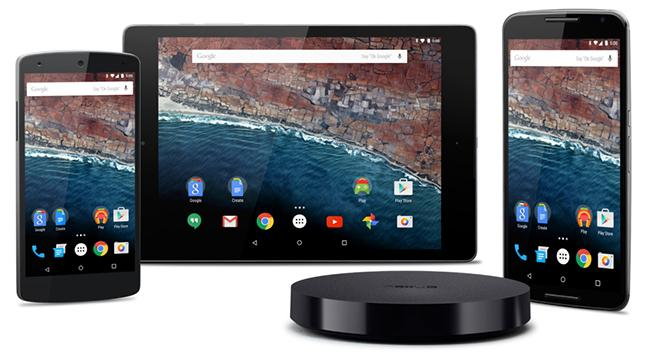 Android M Developer Preview Devices