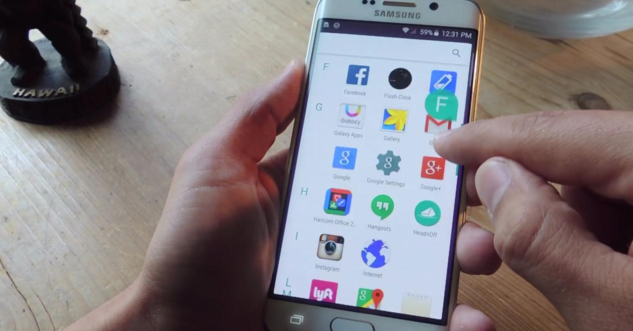 android m galaxy s6 edge