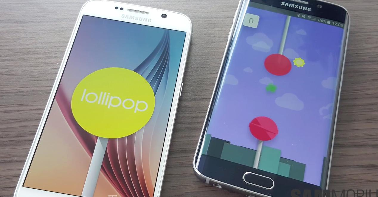 Galaxy S6 y S6 Edge Android 5.1.1