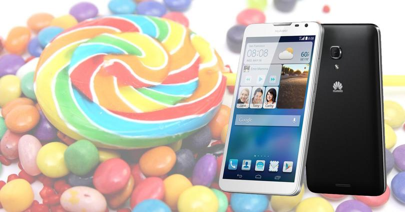 Huawei Ascend Mate 2 Lollipop