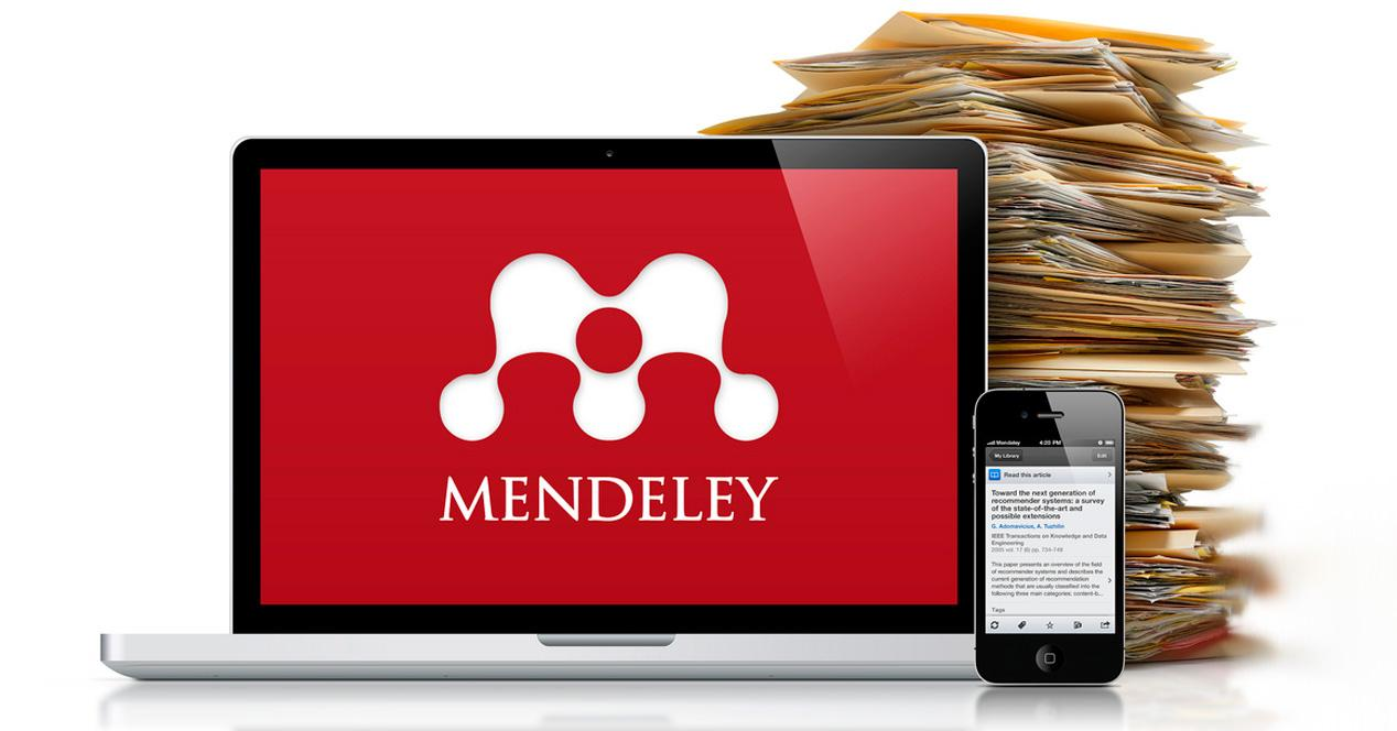 Mendeley para iOS y Android.