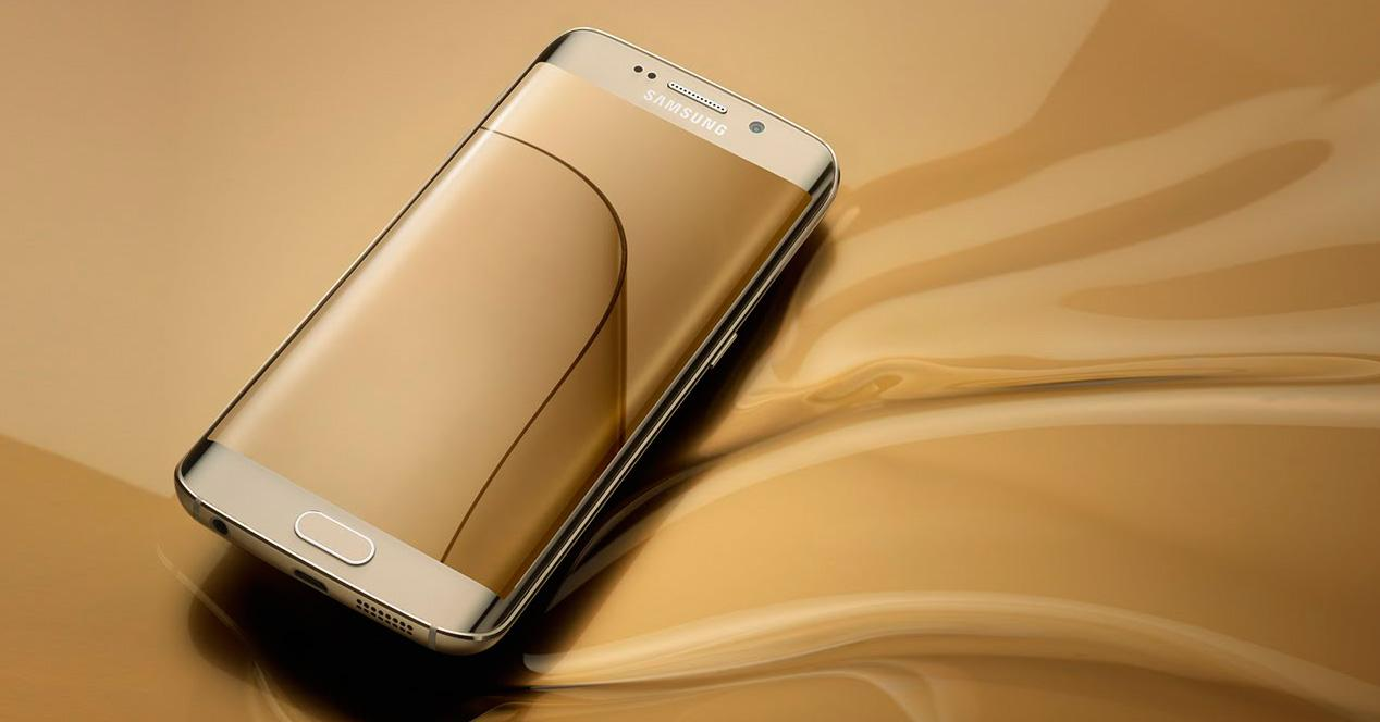 Galaxy S6 Edge oferta Oro.